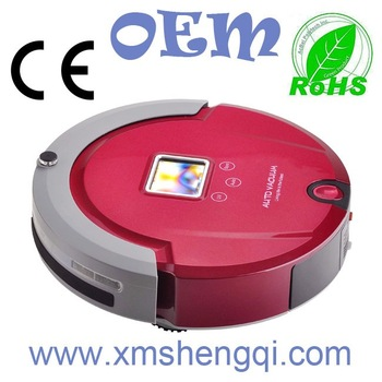 4 In 1 Multifunctional Robot Vacuum Cleaner (Sweep, Vacuum, Mop, Sterilize),LCD,Touch Button, Clean Schedule, Rechargable