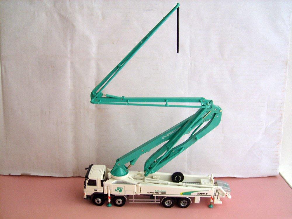 Guaranteed 100% 1:50 EVERDIGM 52CX-5 Truck-mounted concrete cement pump toy(China (Mainland))