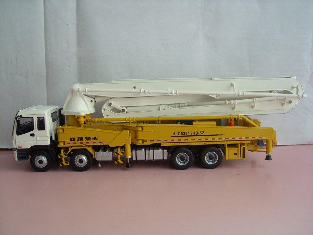 Guaranteed 100% 1:38 SHANTUI HJC5391THB-52M concrete cement pump truck toy(China (Mainland))
