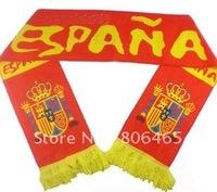 World Cup  velvet  cheer scarves,145cm*16cm soccer scarves,neckerchief,neckcloth for cheer,fleece Spain  soccer scarf,100pcs