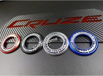 WHOLESALE Chevrolet Cruze Ignition Key Ring Protector/ Car Styling for Chevy with Free Shipping(4 colors included)