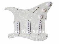 3S White Pearl Guitar Loaded Prewired Pickguard For Strat Style Guitar