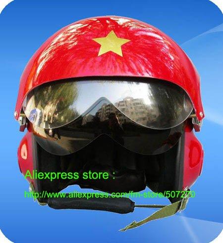 TK New Glass Fiber Half Face Jet Pilot Half Face Motorcycle Red Helmet , Motorbike Casco , Motor Casque & Visor Free Shipping(China (Mainland))