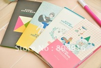 FIRST LINE ICONIC Sticky Book Sticky Memo Pad Notepad Notebook 4 designs ST0727