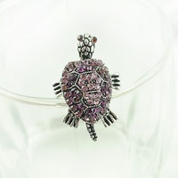 YR10018 Mainstream personality restore ancient ways turtle hand foot head tail moving long tortoise ring Free shipping