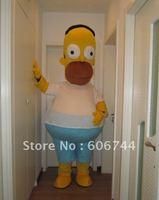 Adult Plush Homer Simpson Mascot Costumes Cartoon Costumes Character Costumes
