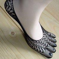 Make cool five toe sock, 5pairs/lot women's Mesh five Toe socks black