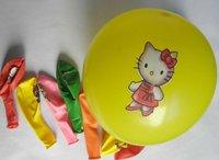 Cartoon balloons, Round balloons