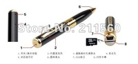 Free shipping,wholesale,Mini Pen Dvr Pen Camera 1280 x 960 High Resolutiongold and silver can choose