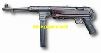 [Alice papermodel] 1:1 WWII German MP38 Assault Sniper Rifle Pistol Revolver Submachine Shotgun toy gun weapon models