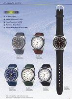 Model ZL: Analog watch with EL light