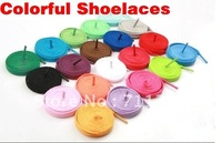 wholesale colorful sports shoelaces,shoe strings,shoe lace 50pairs/lot,free shipping
