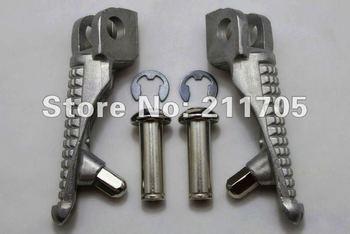 For Kawasaki Ninja ZX6R 03-11  ZX10R 04-11  Front Footrest Foot Pegs Aluminum