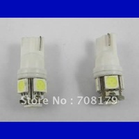 car led light 194 w5w T10 5SMD 5050 WHITE car led bulb wedge car lamp