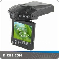 Free shipping 2.5 inch car mobile dvr with 270 degrees
