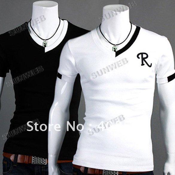 2012-New-Men-s-Fashion-Casual-Slim-Fit-Short-Sleeve-Shirts-T-shirts ...