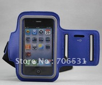 New Arrival, High Quality Arm Band Case for iPhone 4S 4 4G, 30Pcs/Lot, Free Shipping, Different Colors Available