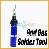 Cordless Pen Shape Butane Gas Soldering Solder Iron Tool Blue lightweight compact portable new