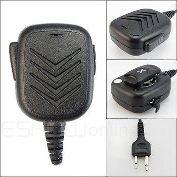 20pcs Handheld Speaker Mic for ICOM F3 F3S F4 F11/21/24 /43 V8 TH7 T22A Radio Walkie talkie transceiver interphone J0158A Eshow