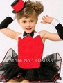 Wholesale High Quality 10pecs/lot Cotton Lace Girls Short Sleeved Dress Ballet Skirts Performing  Dance Tutu Skirts