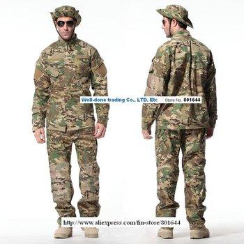 MULTICAM BDUS,Paintball uniform,7colors+free shipping