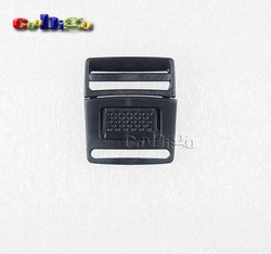 3/4&quot;Plastic Side Release Center Buckles Backpack Straps Webbing 19mm 100pcs Pack #FLC042-B(China (Mainland))