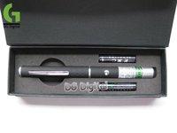 30pcs/LOT 50mw 532nm Green Laser pointer / 2 in 1 green beam laser pen / Green patterns (with retail box) + DHL Free shippiing
