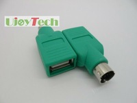 Free shipping-USB Female to PS2 Male adapter, keyboard mouse PS2 converter, in stock + fast delivery