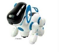 Electric robot dogs electronic pet dog toy,music shine pet