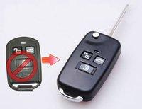 Hyundai Sonata 3 Buttons Folding Remote Key Shell ..,Locksmith Tools,remote key shell,transponder chip.