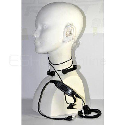 20pcs Throat Vibrate MIC Earpiece for ICOM F3 F3S F4 F11/21/24/V8TH7 T22A Radio Walkie talkie transceiver interphone C0118A(China (Mainland))
