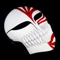 Wholesale  Quality Resin Kurosaki Ichigo bankai Full Hollow Mask, Red Black.500g/piece Free shipping.