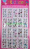 20 pcs/pack Retail Cute Hello Kitty Cartoon PVC Stickers (KH-35)