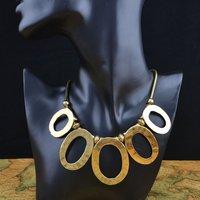 Популярные цвета моды Бижутерия колье кожа ретро ожерелье уникальный дизайн для женщин n453