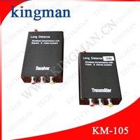 Hot Extreme distance 2KM-3KM 2.4G Wireless AV Transmitter And Receiver