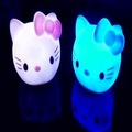 Best selling!  Hello Kitty Tealights KT Head Color Changing Light /Electronic led Candle Festival Bar Decoration. Free shipping!