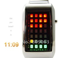 Free Shipping Japanese inspired Red - Yellow - Green LED Digital Watch