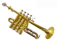 Limited 50 sino-US HTR-8339 silver plated trumpet three tone trumpet Bach trumpet import configuration