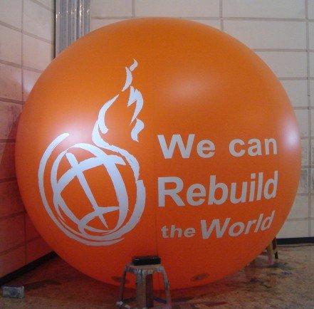 inflatable helium balloon ball, helium ball ,advertising ball(China (Mainland))