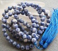 wholesale 8mm Tibet Buddhist 108 Stone Prayer Beads Mala Necklace