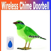 2014 New Home Wireless Bird Remote Control Chime Doorbell Alarm wireless Digital doorbell door bell Free Shipping