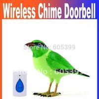 Home Wireless Bird Remote Control Chime Doorbell Alarm wireless Digital doorbell door bell Free Shipping