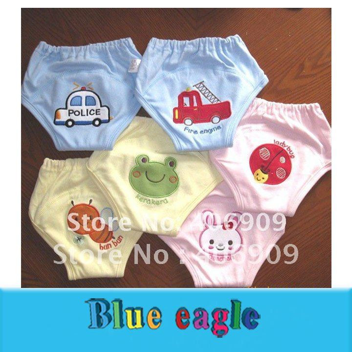 Wholesale 2012 NEW HOT Baby training pants cotton inwrought Reusable 4 layer Toddler Potty bread shorts 24 ...