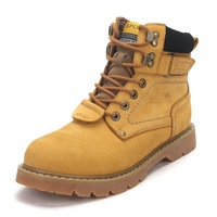 """cady-s"" western fashion lace up classic hiking boots women size 34-40 (Yellow, Light Brown, Dark Brown, Black)  drop shipping"