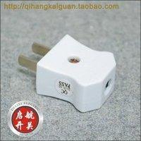 Chint plug two plug 10A bipolar flat plug the NEP-201