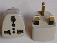 British standard converter / UK converter plug the United Kingdom and Hong Kong, Singapore applies
