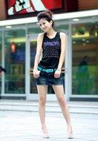 Best selling Miss Han Ban belt fashion wild new slide buckle decorative belt
