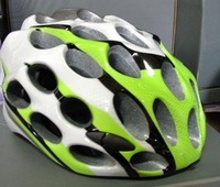 Unique Sport Bicycle Adult Mens HERO Bike Helmet green