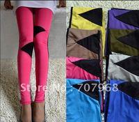 Candy color color pants
