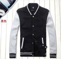 2012 new jacket sweater baseball hoodies for men ,free shipping